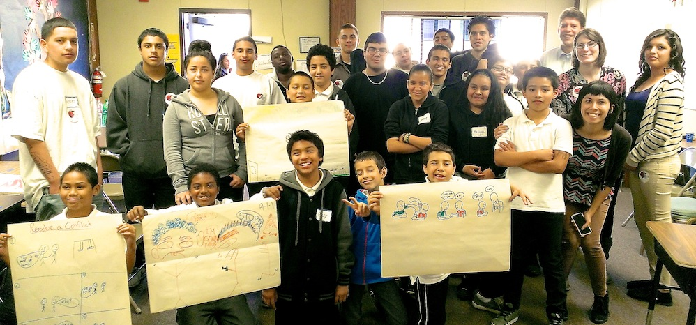 Rancho Cielo Service Learning Project with Roosevelt Elementary School - Fall 2013