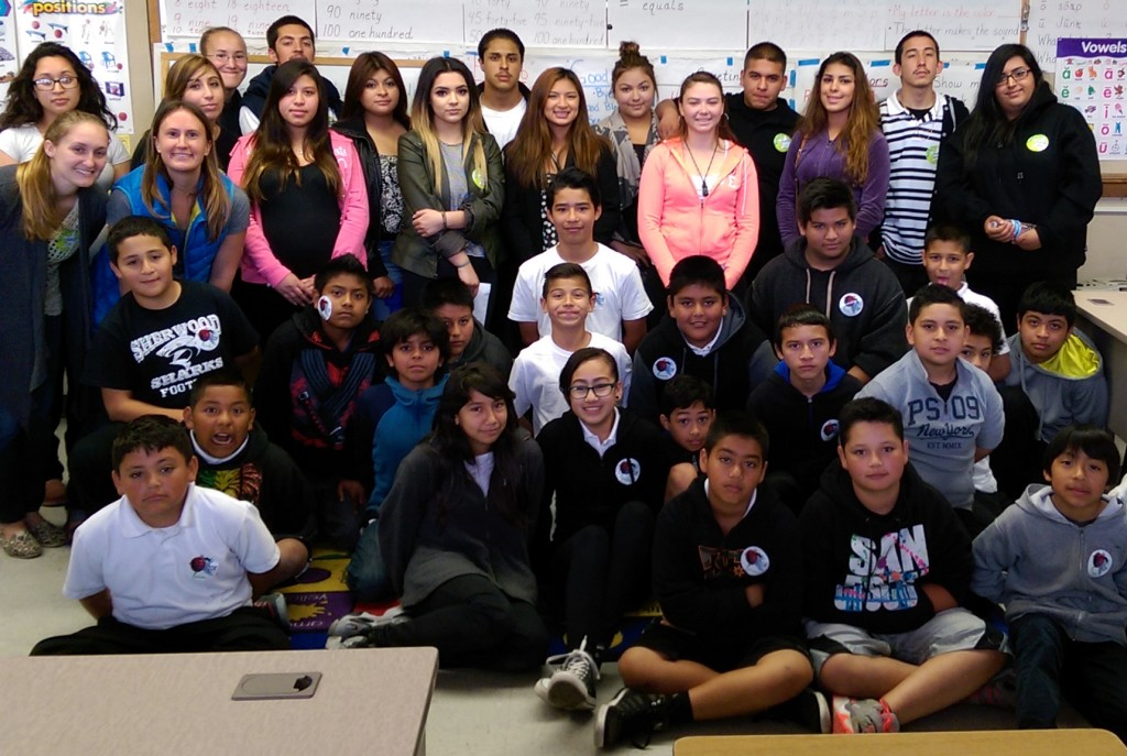 Spring 2015 Rancho Cielo & Sherwood Elementary Service Learning Project